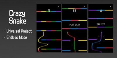 Crazy Snake - Buildbox Template