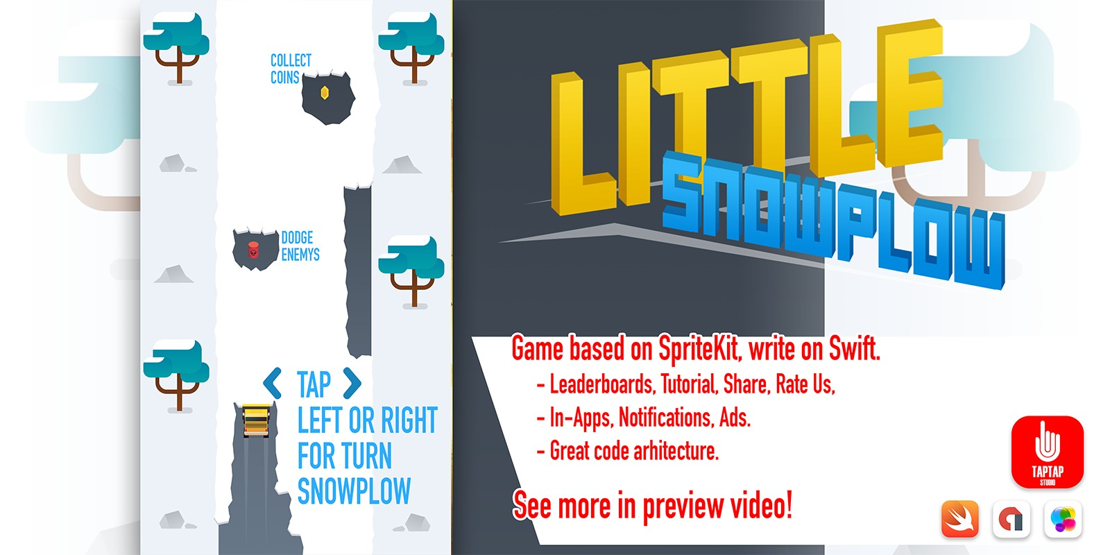 Little Snowplow - iOS App Template