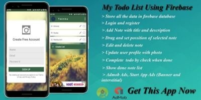 My ToDo List - Android App Template