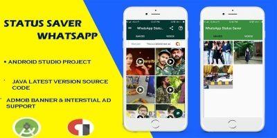 Status Saver Whatsapp - Android App Template