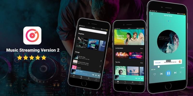 Music Streaming iOS App Template