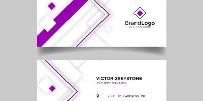 Geomec Business Card Template