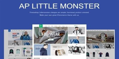 Ap Little Monster Sport Shop Prestashop Theme