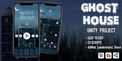 Ghost House - Complete Unity Project
