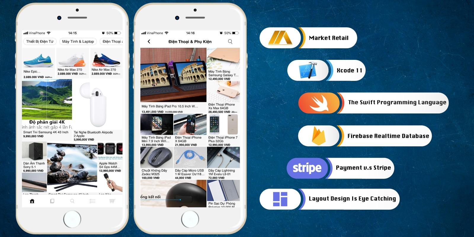 Build E-Market iOS App Template