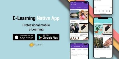 E-Learning Android And iOS App Template