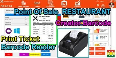 Point Of Sale - POS Restaurant - C# MySQL