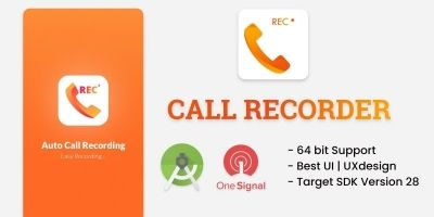 Automatic Call Recorder- Android Source Code