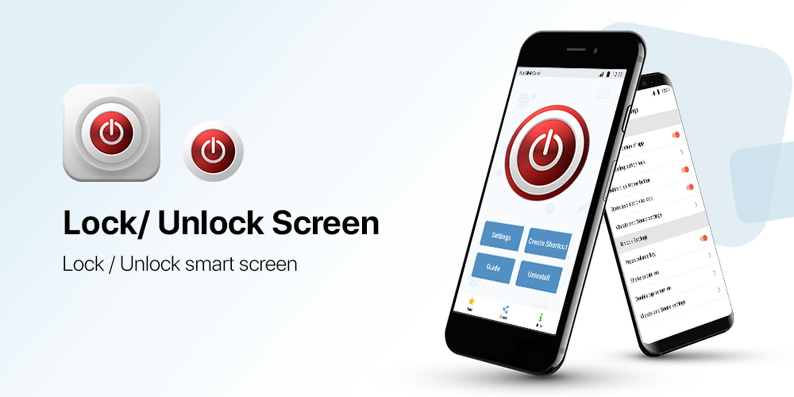Smart Screen On And Off - Android App Template
