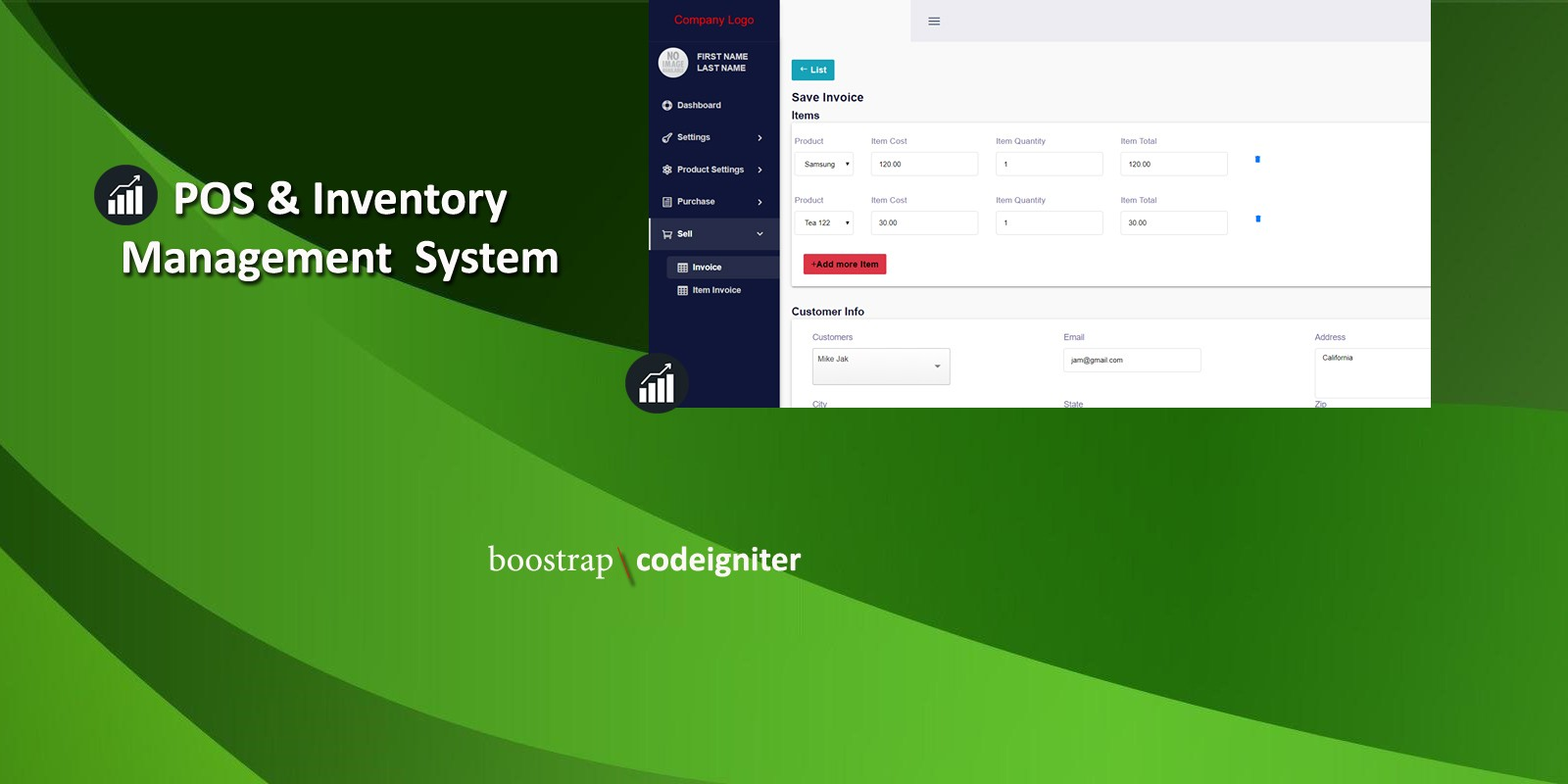 POS And Inventory Management System Software