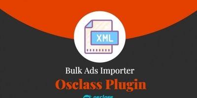 Bulk Ads Importer Plugin For Osclass