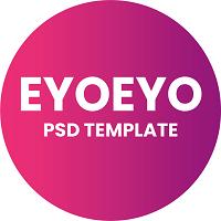 Eyoeyo - Personal Portfolio PSD Template