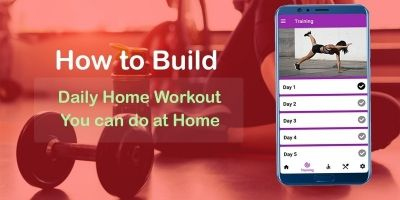 Home Workout - Android Studio Code