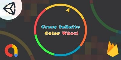 Crazy Infinite Color Wheel - Unity Project