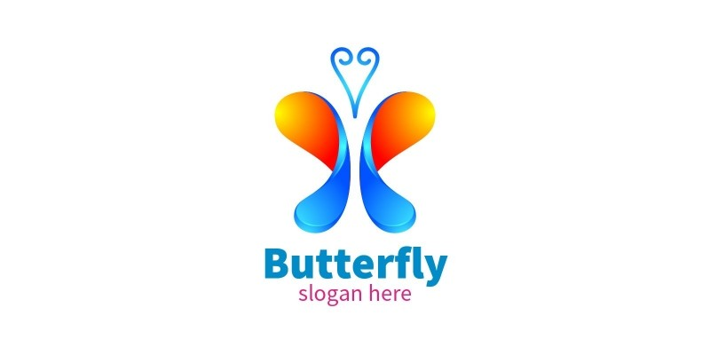 Butterfly Colors Logo 10