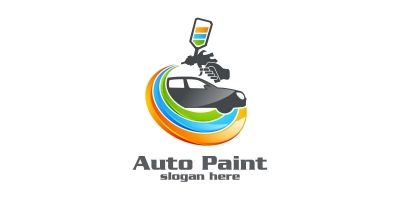 Car Painting Logo 4