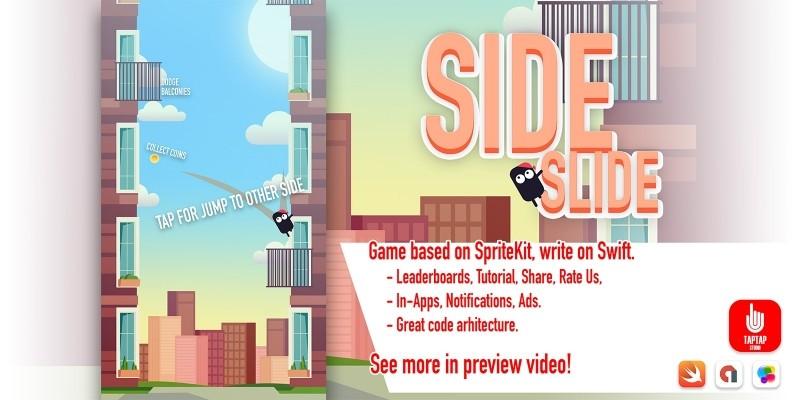 Side Slide - iOS App Template