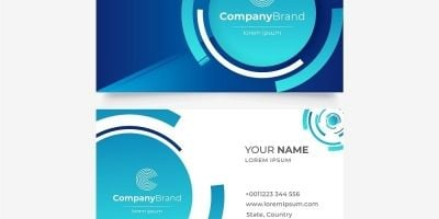 Zomblue Business Card Template