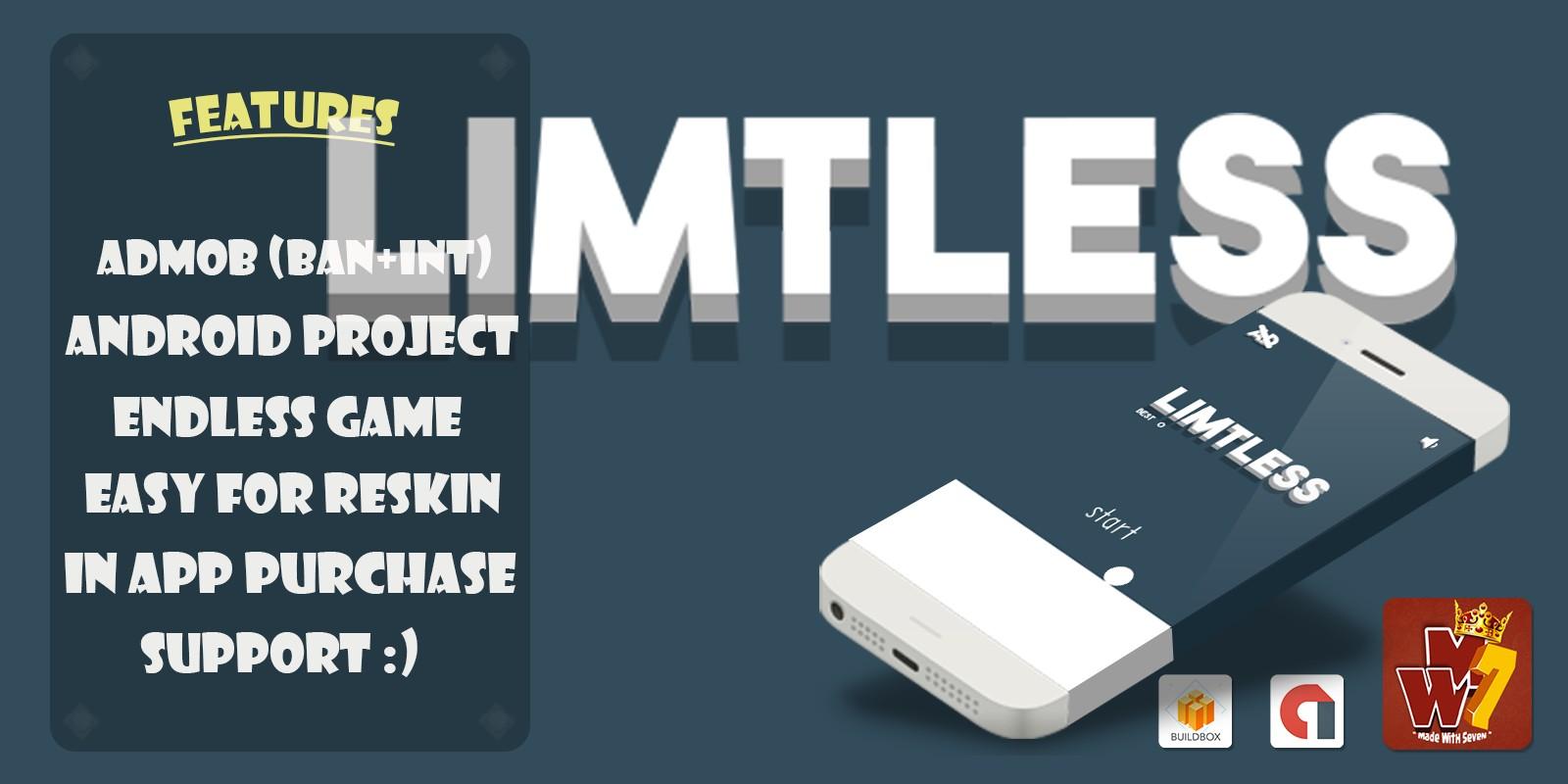 Limitless - Buildbox Template