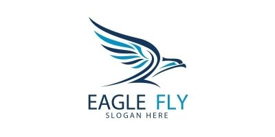 Eagle Fly Logo 3