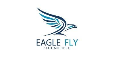 Eagle Fly Logo 3