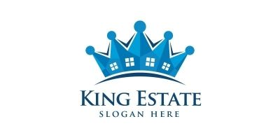 King Real Estate Logo