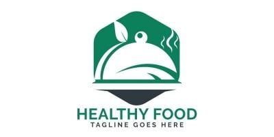 Healthy Food Logo Design