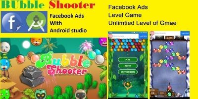Bubble Shooter - Android App Template