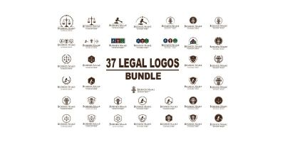 37 Legal Logos Bundle