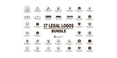 37 Legal Logos Bundle