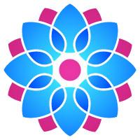 Yoga and Lotus Logo 7