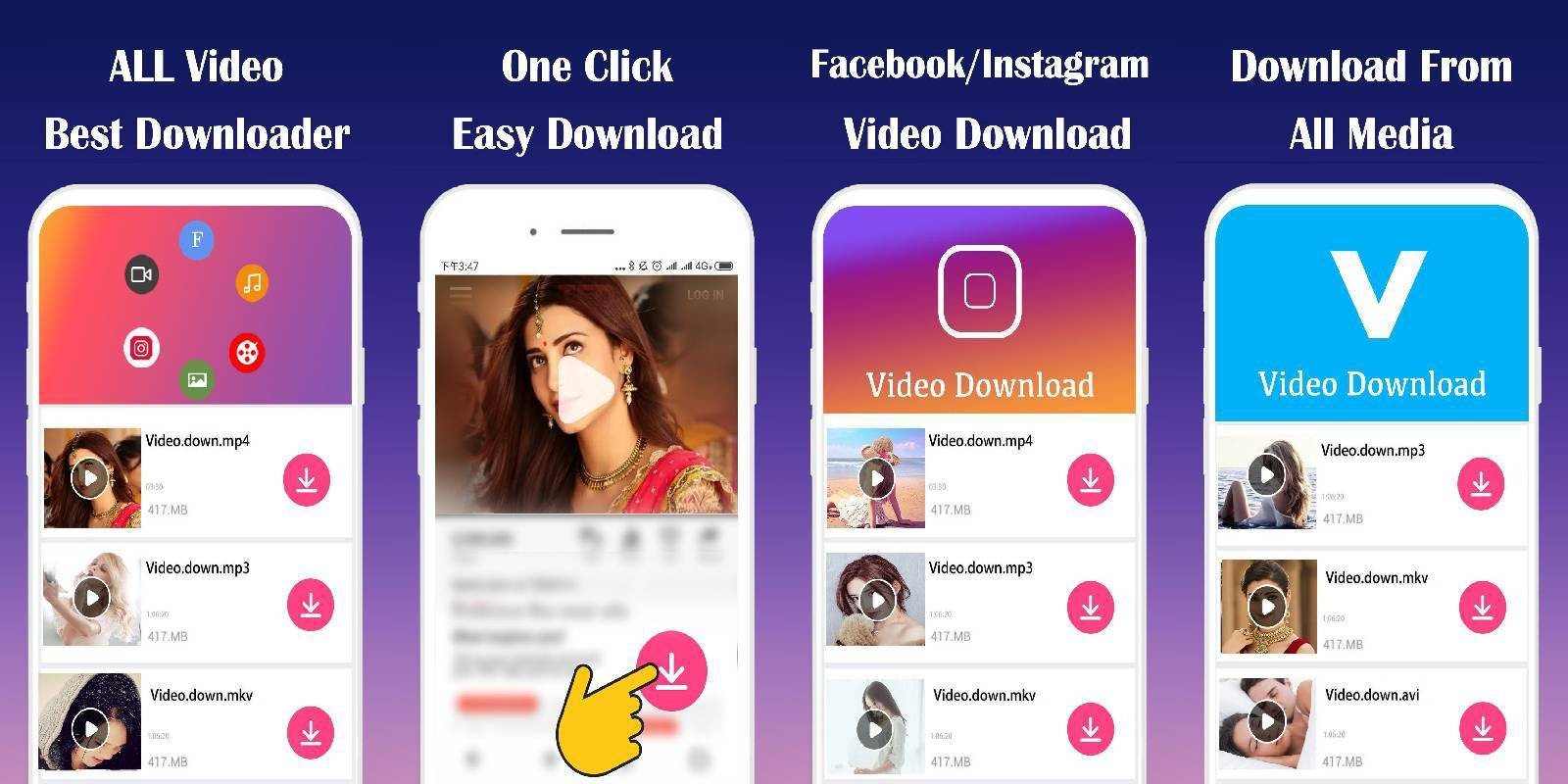 All Video Downloader Android App Template by ExoxiaInfotech  Codester