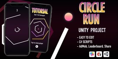 Circle Run - iOS App Template