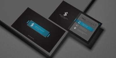 Ribbon Business Card Template