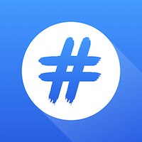 Hashtag - Social Media expert - Full iOS App