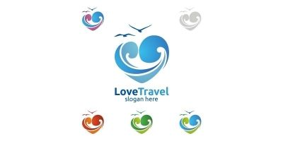 Travel Logo with Love