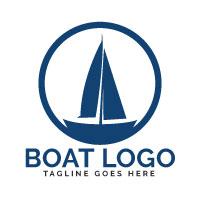 Boat Vector Logo Design