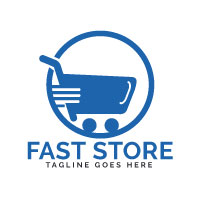 Fast Store Logo Design