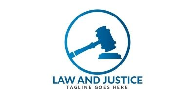 Law And Justice Logo Design