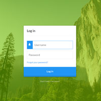 Animated Login Form CSS