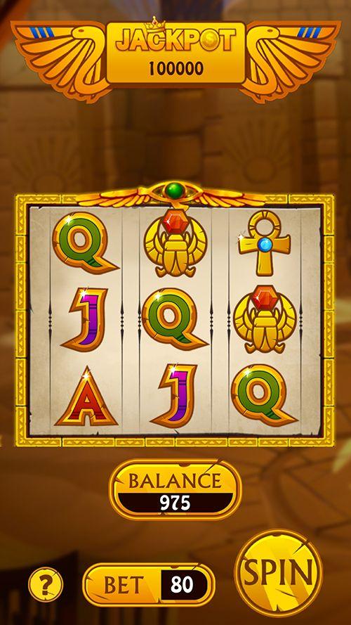 Pharaoh Slot Machine Game