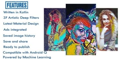 Artistic Deep Filters - Android Source Code