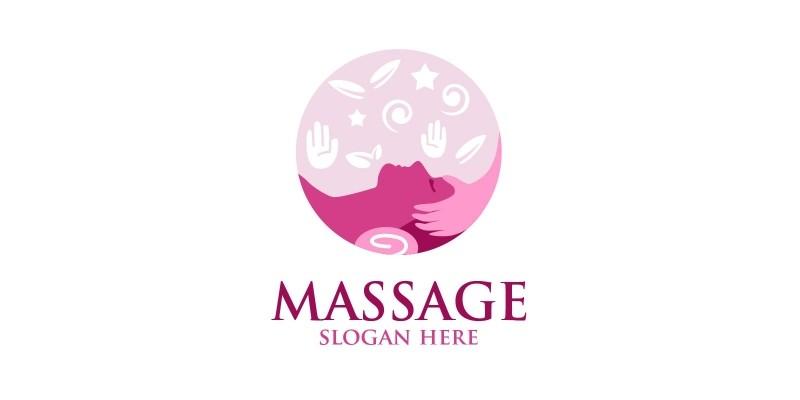 Massage Logo Design 6