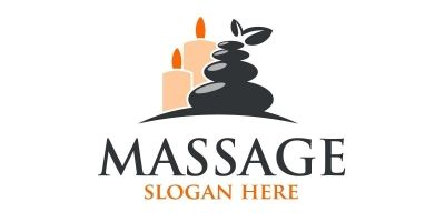 Massage Logo Design  7