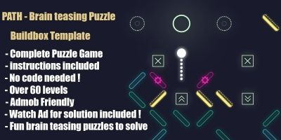 Path - Minimalist Puzzle Buildbox Template