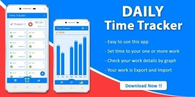 Daily Time Tracker - Android App Template