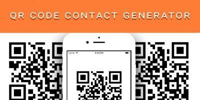 QR Code Contact Generator PHP Script