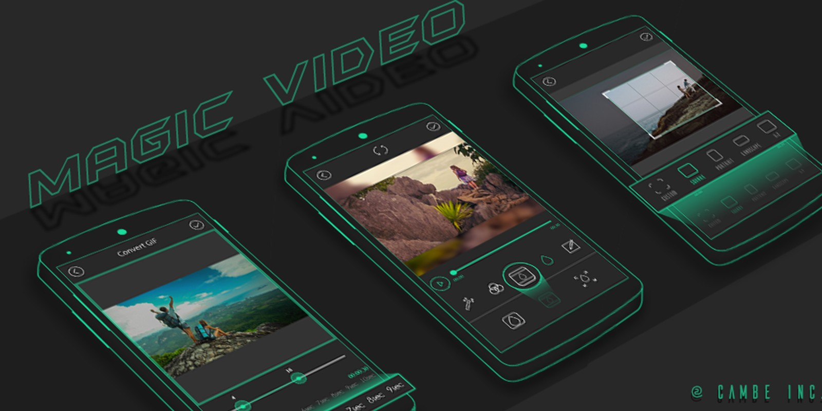 Magic Video Editor - Android Template