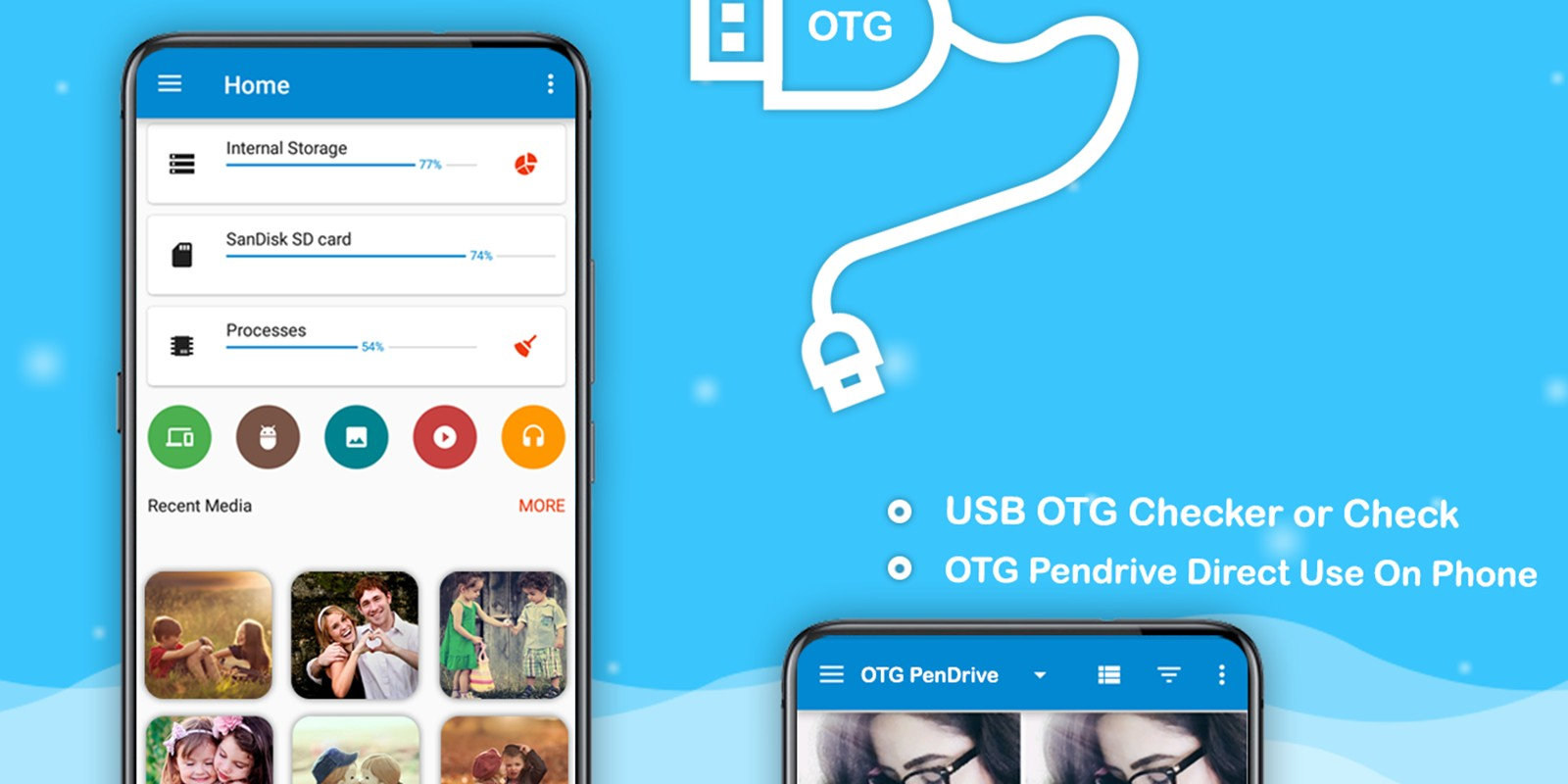 USB OTG File Manager - Android App Template