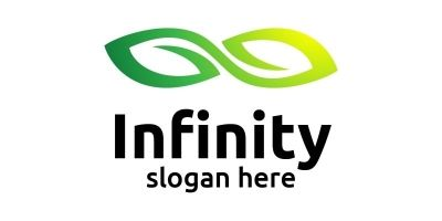 Infinity Loop Logo Design 11